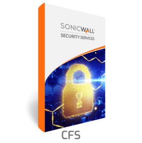 SonicWave 200 Content Filtering Security (CFS) 1 an