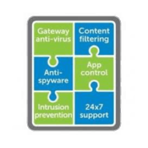 Comprehensive Gateway Security Suite - NSA 220 - 1 an