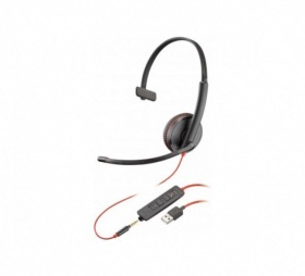Micro casque USB-A + Jack Blackwire C3215 Plantronics