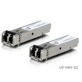 Pack 2 modules SFP Giga monomode WDM Ubiquiti