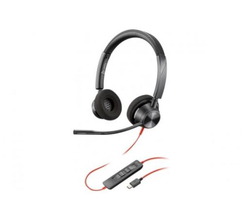 Micro casque USB-C Blackwire 3320 Plantronics