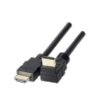 Cordon HDMI High Speed avec Ethernet coudé 0,5 m