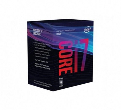 Processeur Intel Core i7-8700 3.2GHz Socket LGA1151