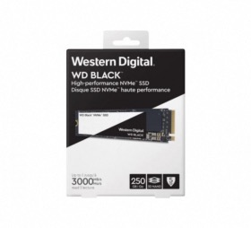 Disque SSD WD Black M.2 80mm PCIe 250Go