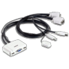 Switch KVM câblé Trendnet TK-217i VGA USB