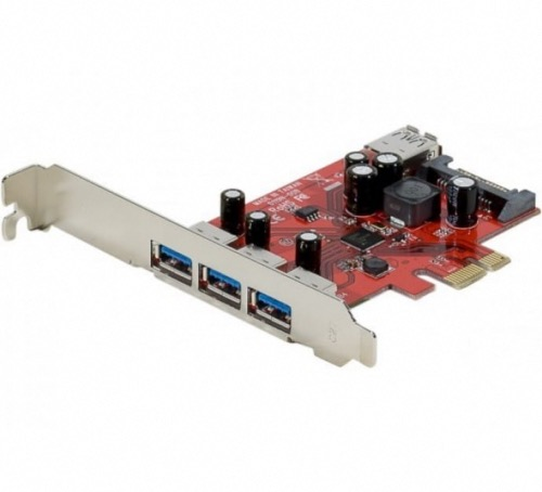 Carte extension 4 ports USB 3.0 PCI Express 2.0 1x