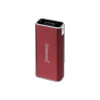 PowerBank Intenso A5200 Alu micro USB/USB rouge