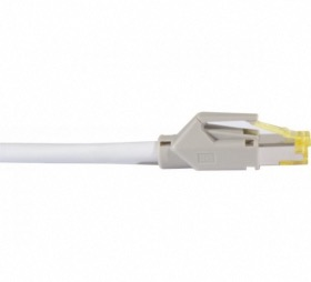 Cordon ethernet 10 gigabit Cable Draka Cat.7 gris - 10 M