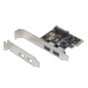 Carte 2 ports USB 3.0 PCI Express Dexlan