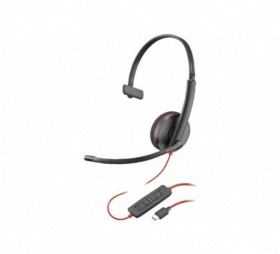 Micro casque USB-C Blackwire C3210 Plantronics