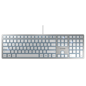 Clavier Slim argent KC 6000 CHERRY USB