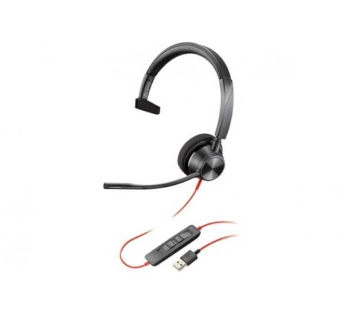 Micro casque USB-A Blackwire 3310-M Poly