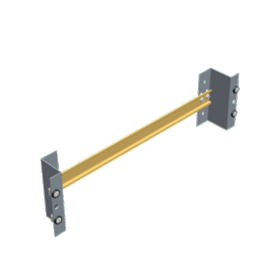 Rail DIN 35 x 36 mm pour baie 19 support 3U