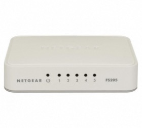 Switch 5 ports Gigabit Netgear GS205