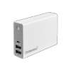 PowerBank Intenso ST10000 micro USB/2USB blanc