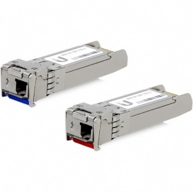 Pack 2 modules SFP+ 10G monomode WDM Ubiquiti