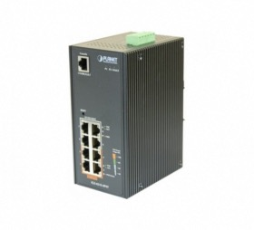 Switch industriel 8 ports 4 PoE+ Planet IGS-4215-4P4T