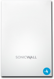 AP SonicWave 224W Cloud WiFi Management 3 ans - pack 4