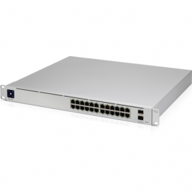 Switch UniFi 24 ports giga PoE 400W 2 SFP+ Ubiquiti
