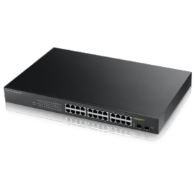 Switch 24 ports giga PoE 170W 2 SFP Zyxel GS1900-24HP