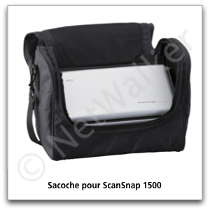 Sacoche de transport pour le ScanSnap S1500 Windows & Mac