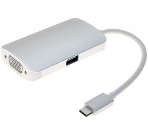 Station d'accueil USB-C vers VGA USB 3.1 + chargeur