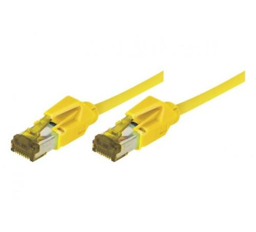 Cordon ethernet 10 gigabit Cable Draka Cat.7 jaune - 2 M
