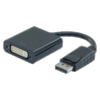 Adaptateur 20 cm Displayport 1.1 vers DVI-D Single Link