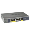 Switch Netgear GS105PE 5 ports gigabit 2 PoE niv2