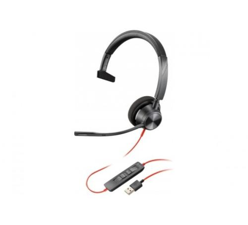 Micro casque USB-A Blackwire 3310 Plantronics