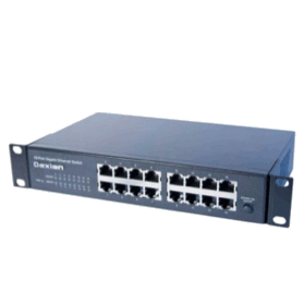 Switch Rackable 10 et 19 pouces ! 16 ports Gigabit Ethernet