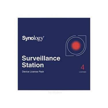 Surveillance Device Licence Pack 4 pour NAS Synology