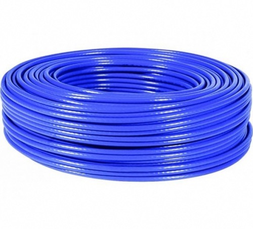 Cable multibrin Cat6 F/FTP 100m bleu