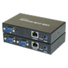 Switch KVM 2 ports VGA/USB et Prolongateur 150 m