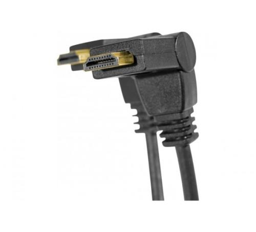 Cordon HDMI High Speed articulé 1 axe - longueur 1 mètre
