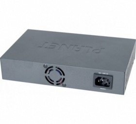 Switch 8 ports Gigabit Planet GSD-804P (4 PoE 65W)