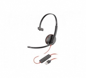 Micro casque USB-A Blackwire C3210 Plantronics
