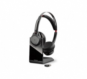 Micro casque + socle Bluetooth USB-C Plantronics Voyager Focus UC