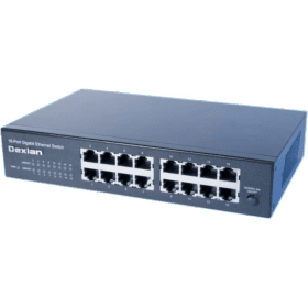 Switch 16 ports gigabit rackable 10 et 19 pouces