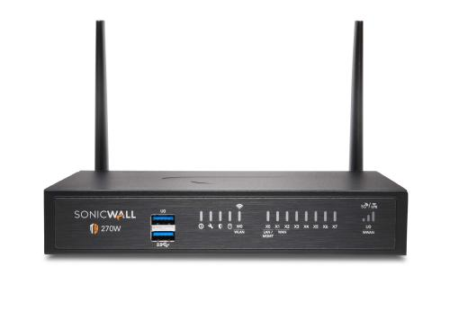 SonicWALL TZ270 Wireless-AC Secure Upgrade Plus - Essential Edition 3 ans