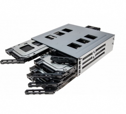Backplane rack métal 8 SSD 2,5 SATA