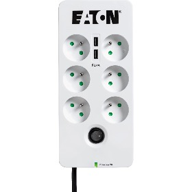 Multiprise Protection Box 6 USB FR Eaton