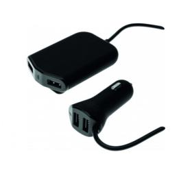 Chargeur allume cigare 4 ports USB 2+2 Ansmann