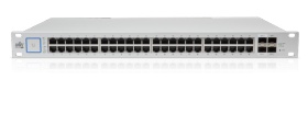 Switch UniFi 48 ports giga PoE+ 500W 2 SFP 2 SFP+ Ubiquiti