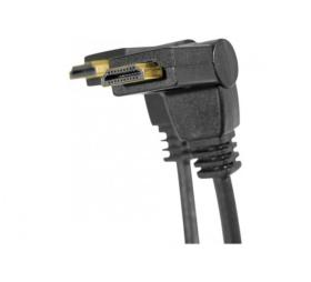 Cordon HDMI High Speed articulé 1 axe - longueur 1,8 mètre