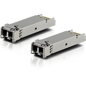 Pack 2 modules SFP Giga multimode 550 m Ubiquiti