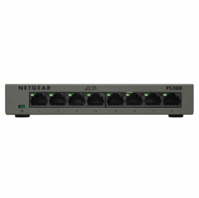 Switch métal 8 ports Gigabit Netgear GS308