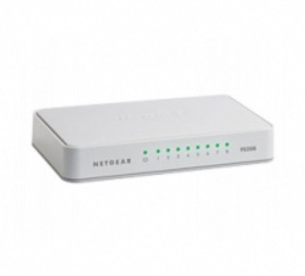 Switch 8 ports Ethernet Netgear FS208