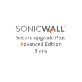 afficher l'article SonicWALL TZ400 Secure Upgrade Plus Advanced Edition - 3 ans