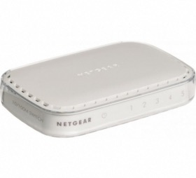 Switch 5 ports Gigabit Netgear GS605